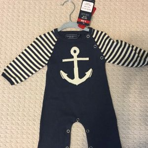3-6 month Tooby DOO One Piece Anchor
